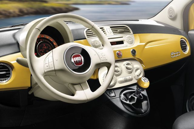 Fiat 500 Color Therapy - Armaturen