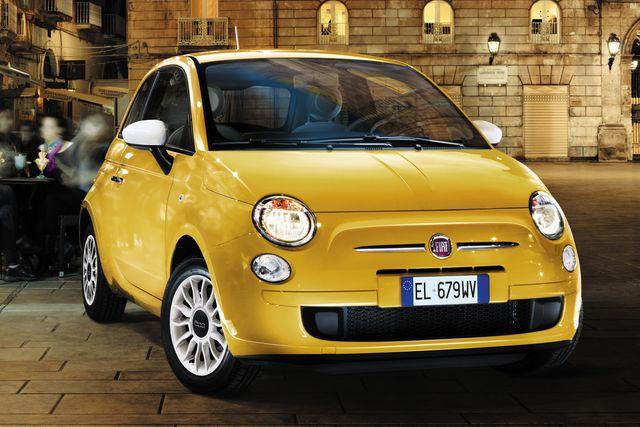 Fiat 500 Color Therapy von vorne