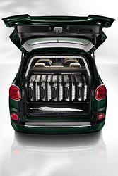 Fiat 500L Living - Kofferraum
