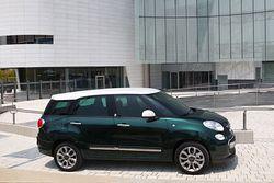 Fiat 500L Living von der Seite