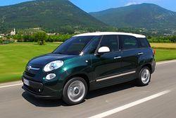 Fiat 500L Living von vorne