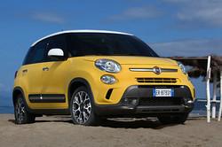 Fiat 500L Trekking von vorne
