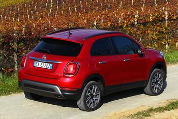 Fiat 500X von hinten
