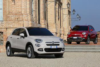 Fiat 500X im Citty-look und im Offrad-Look