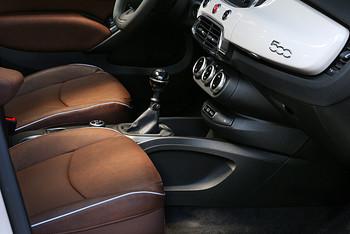 Der Innenraum des Fiat 500x