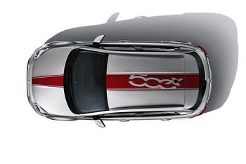 Fiat 500X Mopar Zubehör Dachbeschriftung