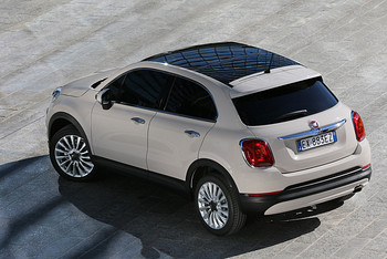 Fiat 500X Panoramadach