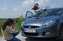 Fotoshooting Miss Austria mit Fiat Bravo