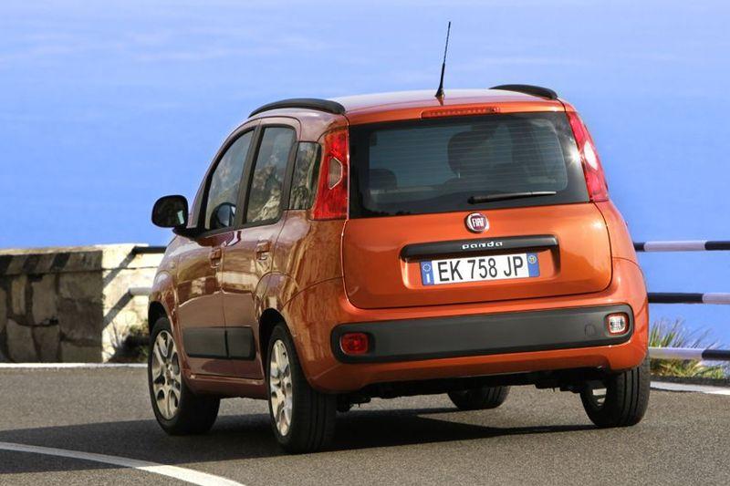 Fiat Panda von hinten