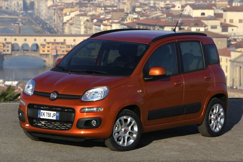 Fiat Panda von vorne