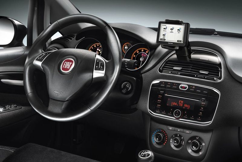 Fiat Punto - Armaturenbrett