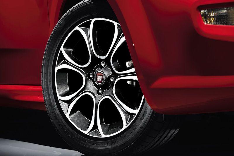 Fiat Punto - Lichtmetallfelge