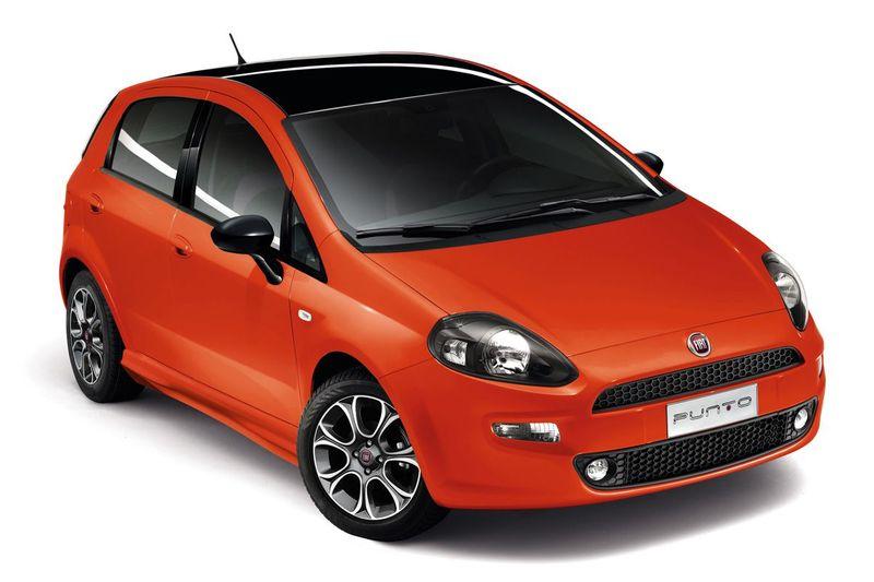 Fiat Punto mit Sportpaket