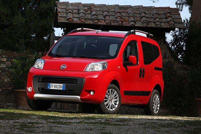 Fiat Qubo von vorne