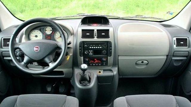 Fiat Scudo Panorama 4x4 - Armaturenbrett
