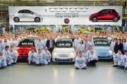 1-Million Fiat 500 im Werk Tichy produziert