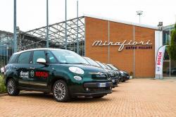 Bei der diesjährigen Bosch Diesel Challenge erreicht der Fiat 500L Living einen Durchschnittsverbrauch von 2,63 Liter Diesel auf 100 km