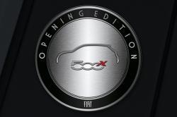 Fiat 500x Opening Edition, ein europaweit auf 2000 Exemplare limitiertes Sondermodell mit reichhaltiger Serienausstattung und einem besonders attraktiven Preisvorteil.